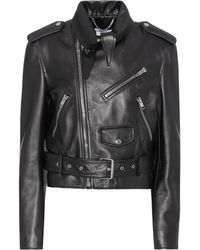 Balenciaga - Leather Jacket - Lyst