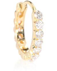 Maria Tash - Arete Invisible Set Diamond Eternity de oro amarillo de 18 ct - Lyst