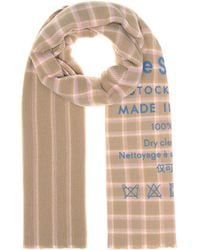 Acne Studios - Cassiar Checked Wool Scarf - Lyst