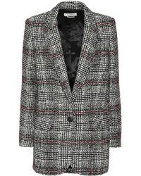 Étoile Isabel Marant - Ice Plaid Wool-blend Blazer - Lyst