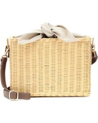 Kayu - Reece Wicker Shoulder Bag - Lyst