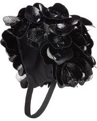 Miu Miu - Floral-embellished Hat - Lyst 4921c40194eb7