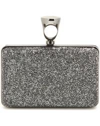Tom Ford - Micro Crystal Embellished Box Clutch - Lyst