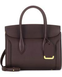 Alexander McQueen - Heroine 30 Leather Shoulder Bag - Lyst