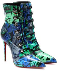 Christian Louboutin - Liossima 100 Ankle Boots - Lyst