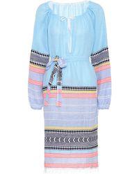 lemlem - Kleid Sofia aus einem Baumwollgemisch - Lyst