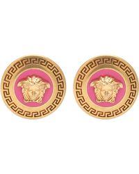 Versace - Medusa Earrings - Lyst