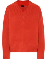 JOSEPH - Wool And Cashmere Sweater - Lyst