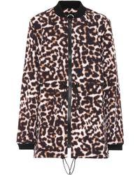 The Upside - Leopard-printed Jacket - Lyst