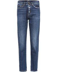 Saint Laurent - High-waisted Jeans - Lyst