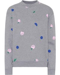 Être Cécile - Printed Cotton Jumper - Lyst