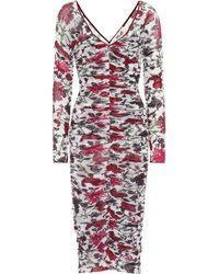 Diane von Furstenberg - Vestido con estampado floreado - Lyst