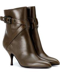 Bottega Veneta - Moodec Leather Ankle Boots - Lyst