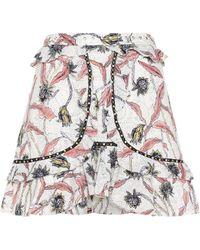 Isabel Marant - Ugi Cotton Skirt - Lyst