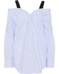 Dorothee Schumacher | Striped Cotton-blend Top | Lyst
