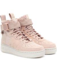 Nike - Sf Air Force 1 Suede Sneakers - Lyst