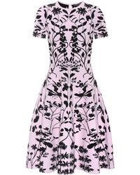 Alexander McQueen - Jacquard-knit Dress - Lyst