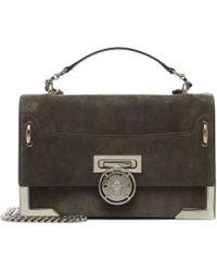 Balmain - Bbox 25 Suede Shoulder Bag - Lyst