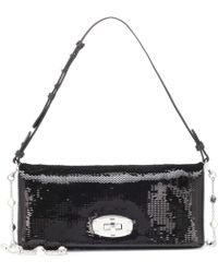 Miu Miu - Sequined Shoulder Bag - Lyst