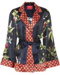 F.R.S For Restless Sleepers - Giocasta Printed Silk Jacket - Lyst