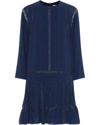 Chloé - Silk Dress - Lyst