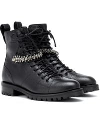 Jimmy Choo - Cruz Boots - Lyst