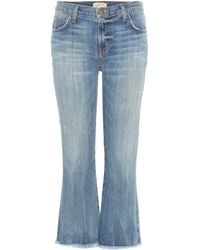 Current/Elliott - The Cropped Flip Flop jeans - Lyst