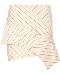 Isabel Marant | Kimura Linen And Wool Skirt | Lyst