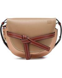 Loewe - Gate Small Leather Crossbody Bag - Lyst