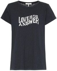 Rag & Bone T-shirt in cotone con stampa