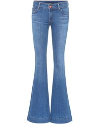 J Brand - Flared Jeans Love Story - Lyst