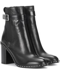 Rag & Bone | Embellished Leather Ankle Boots | Lyst