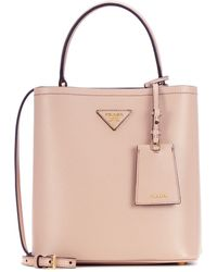 Prada - Leather Shoulder Bag - Lyst