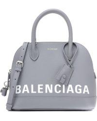 Balenciaga - Ville S Leather Tote - Lyst