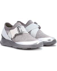 Christopher Kane - Sneakers in tessuto tecnico - Lyst