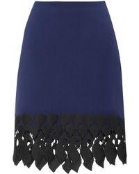 David Koma - Embroidered Skirt - Lyst
