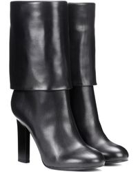 Victoria Beckham - Leather Ankle Boots - Lyst