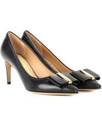 Ferragamo | Edina 70 Leather Court Shoes | Lyst