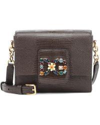 Dolce   Gabbana - Dg Millennials Mini Leather Shoulder Bag - Lyst ea3eaa9d7cb16
