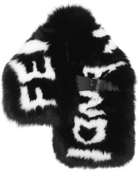 Fendi | Fur Stole With Buckle | Lyst