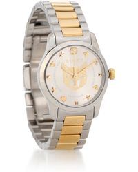 Gucci - Reloj de acero inoxidable G-Timeless 27 mm - Lyst
