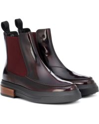 Tod's - Leather Chelsea Boots - Lyst