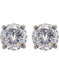 Bottega Veneta - Cubic Zirconia Earrings - Lyst