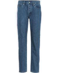 Calvin Klein - Jean taille haute - Lyst