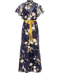 Erdem - Celestina Gertrude Embroidered Silk Organza Gown - Lyst