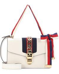 Gucci - Sylvie Leather Shoulder Bag - Lyst
