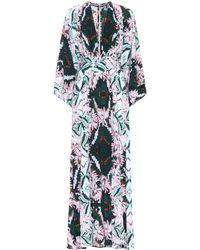 Melissa Odabash - Erin Belted Kimono Maxi Dress - Lyst
