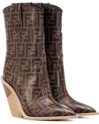 f5d9ad1a8d9d Lyst - Women s Fendi Boots Online Sale