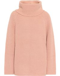 Chloé - Knitted Wool Turtleneck Sweater - Lyst