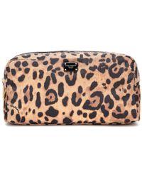 Dolce & Gabbana - Beauty case a stampa leopardata - Lyst
